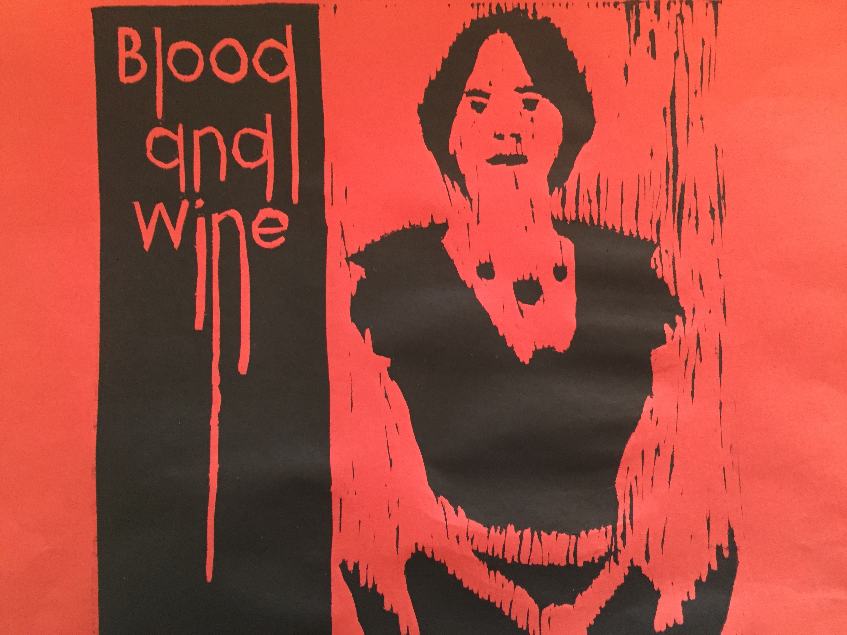 Blood and Wine (linóleo)
